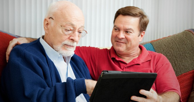 iPads have 'substantial potential' to improve quality of life for care home residents