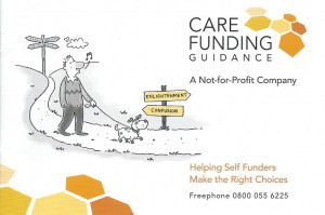 Care Funding Guidance Booklet Cover