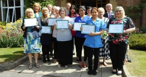 Peterborough Care Staff Recognised For Long Service