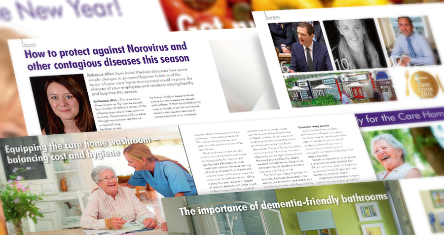 Care Home Management Magazine: Features