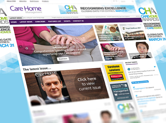 Care Home Management Magazine: Advertise