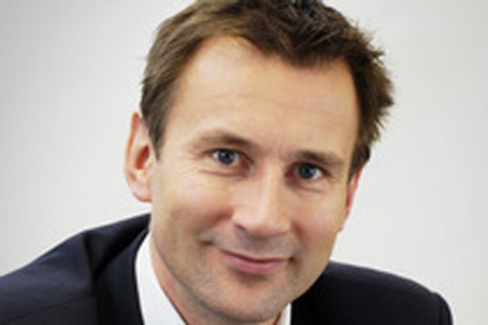 Jeremy Hunt calling for 10 year plan