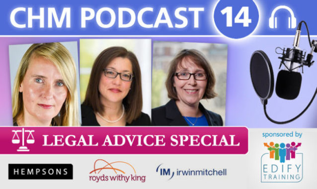 The CHM Podcast no.14 - Legal Advice Special