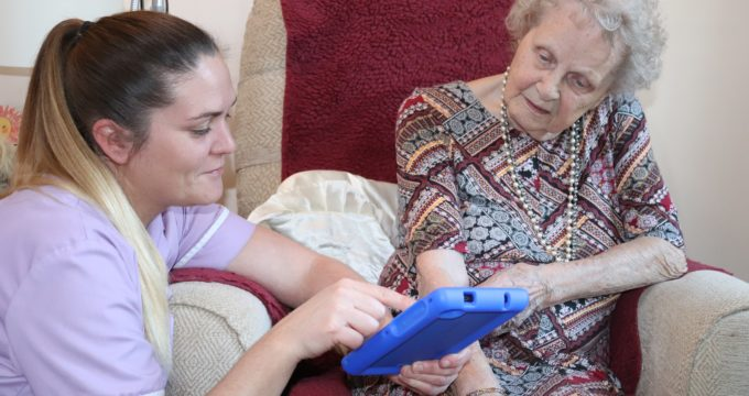 Care Home staff and resident | Nursing Home Information