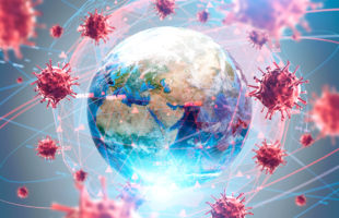 The globe and coronavirus modules | Residential Care Management