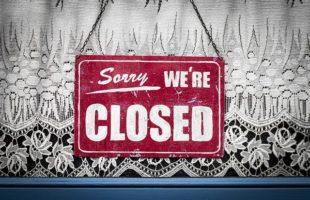 Sign: sorry we're closed | Nursing Home Advice
