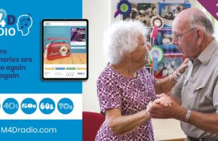 M4D radio launched for care homes news