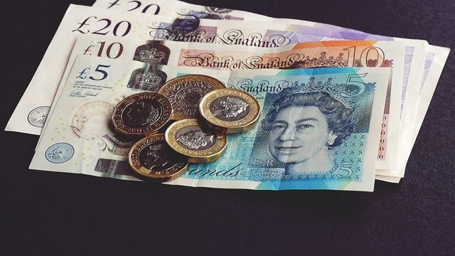 Pound sterling change and bank notes | Care Home Information