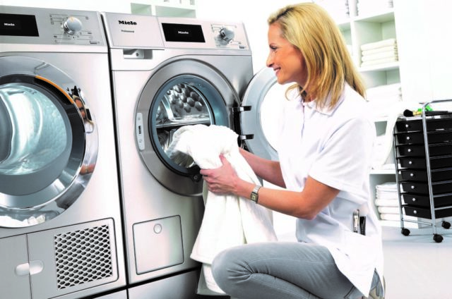 Miele takes Little Giant steps towards laundry efficiency