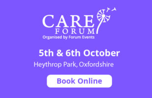 Care Forum advert | Guidance on Care Homes