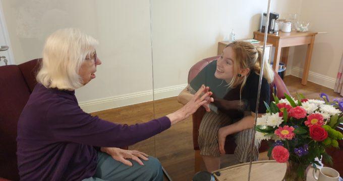 Covid proof room separator | Nursing Home Information