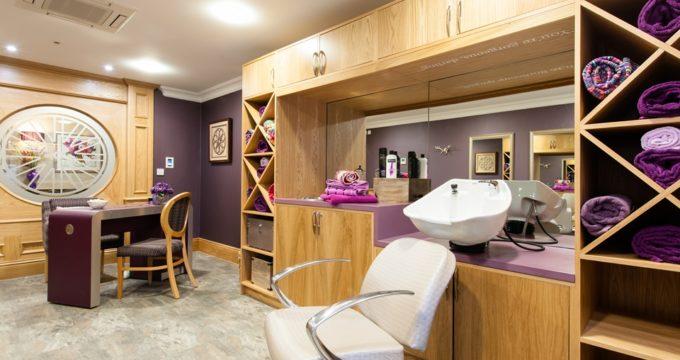 Maycroft Manor care home salon | Care Home News