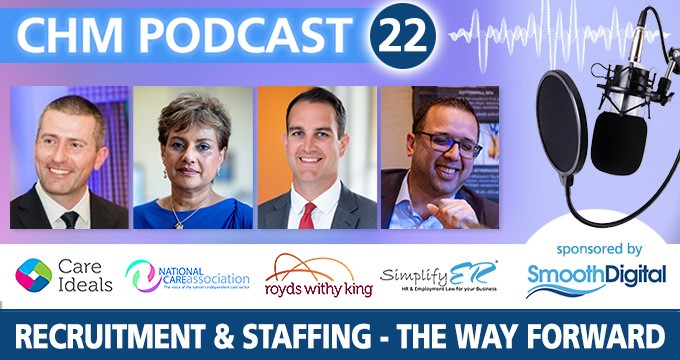Our latest podcast explores care home recruitment and staffing challenges