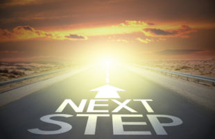Next Step sign on road | Nursing Home Advice