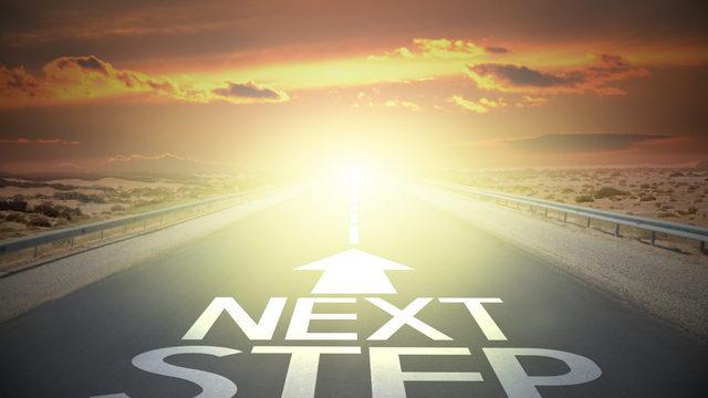 Next Step sign on road   Nursing Home Advice