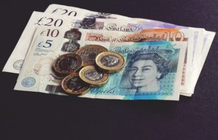 Sterling pound notes and coins | Nursing Home Information