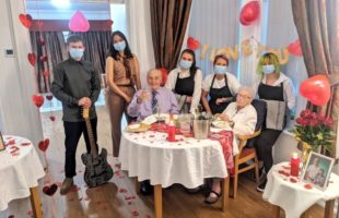 Staff at Laurel Lodge put together the date night for a resident couple | Care Home Supplier News