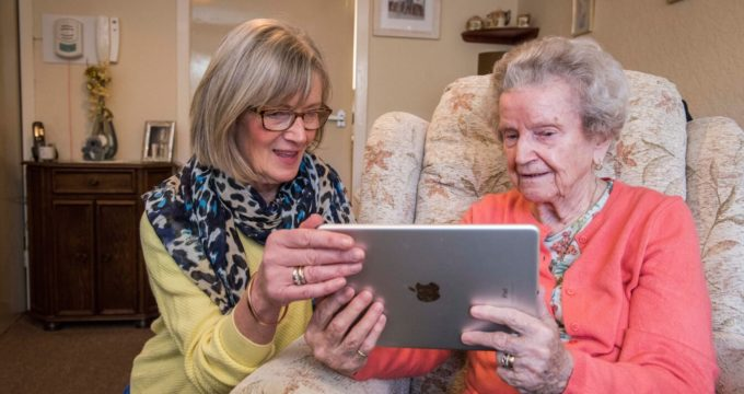care homes ipad