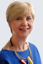 Dr Geraldine Walters CBE, NMC director of professional practice who commented on Caring with Confidence