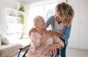 care home resident and nurse | Guidance on Care Homes