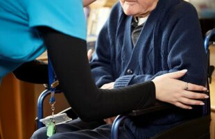 Resident and care home staff member | Care Home Supplier News