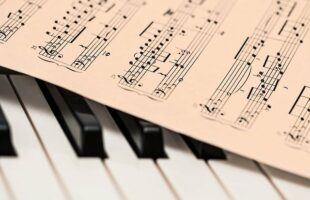 piano and music sheet | Health Care Supplier Advertising
