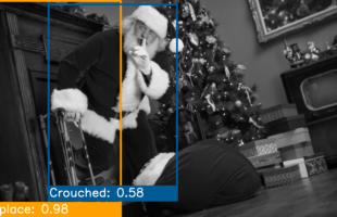photo of Santa in home | Care Home Professional News