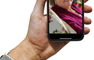 video call on mobile phone | Care Home Agency Advice