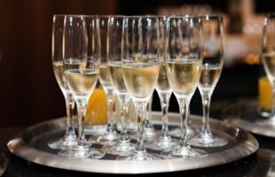 glasses of champagne | Care Home Information