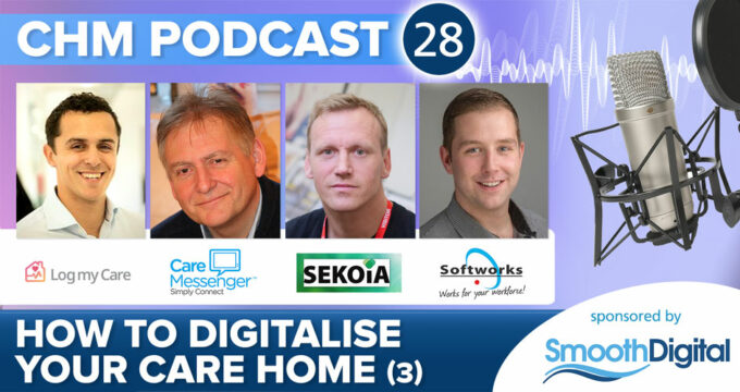 Digital special podcast from care home management