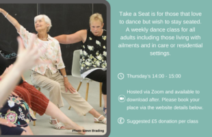 Zoom class for care homes advert | Care Home Professional Magazine