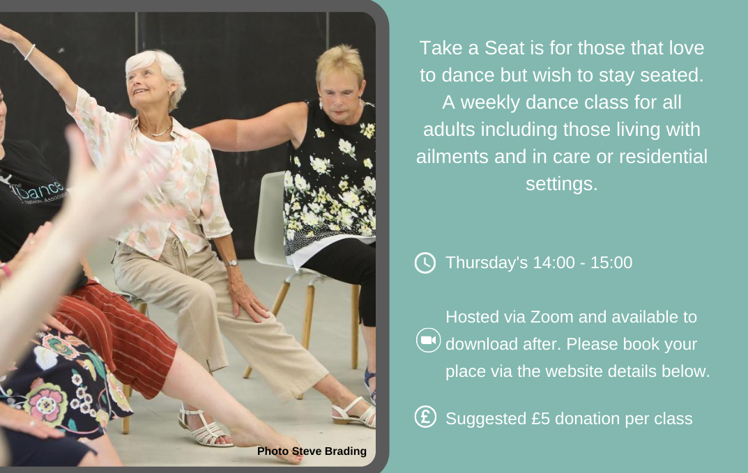 Zoom dance classes for care homes