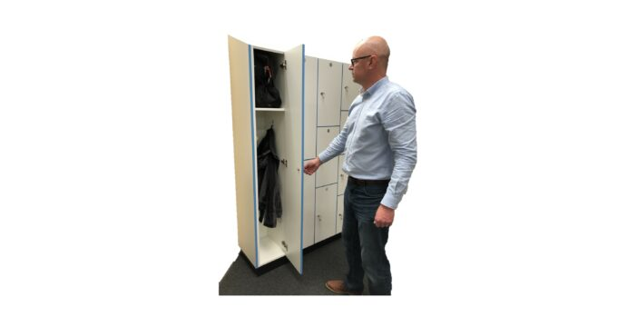 Cut Out Lockers with Spencer   Nursing Home News