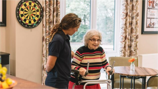 Accessibility crucial in care home design