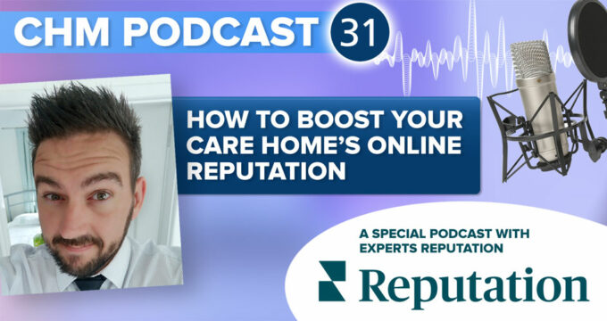 Graphic for Boost Your Online Reputation podcast