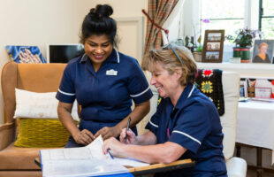 Staff at St Davids and St Christophers Nursing and Residential Homes in North Ascot | Guidance on Care Homes