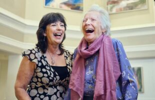 two ladies laughing | Nursing Home Information