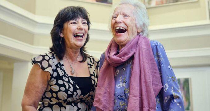 two ladies laughing | Nursing Home Information