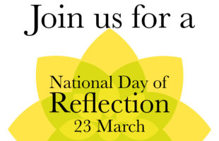 National Day of Reflection logo | Nursing Home News