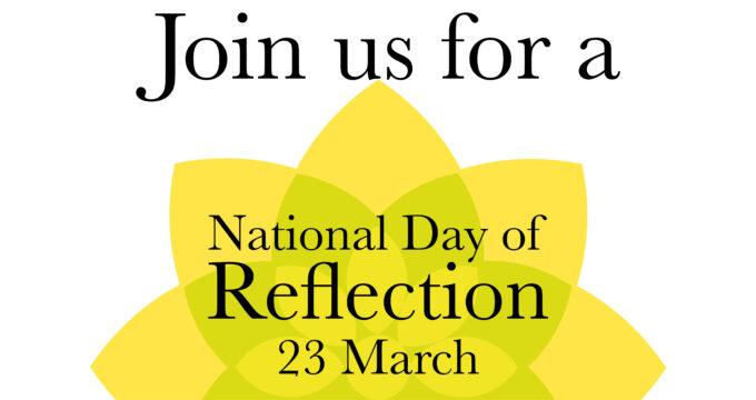 National Day of Reflection logo | Nursing Home News