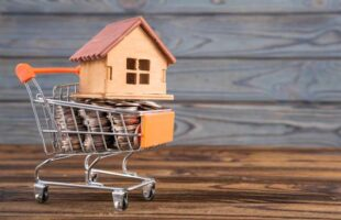 mini home in shopping trolley of coins | Care Home Agency Advice