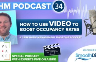 Graphic for video podcast | Residential Care Management