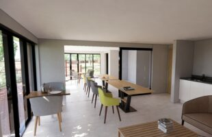 Summerhouse Visitor Pod picture | Care Home News