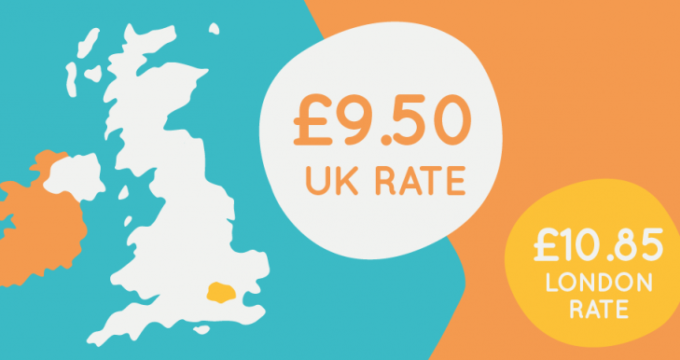 Pay rise graphic | Nursing Home Agency Advice