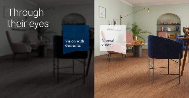 Tarkett to shine a light on dementia design at CFJLIVE