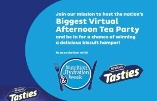 UK's biggest virtual tea party promo | Care Home Information
