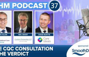 CQC podcast advert June 2021 | Professional Care Home Advice
