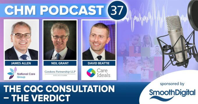CQC podcast advert June 2021   Professional Care Home Advice