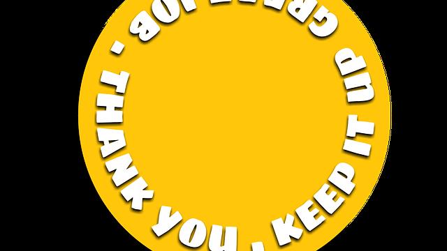 thank you slogan   Care Home Supplier News