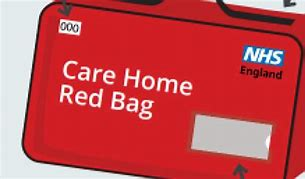 Care Home red bag advert | Guidance on Care Homes